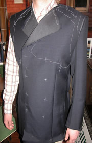 Bespoke fitting stage mod 1960's Inspired Suit