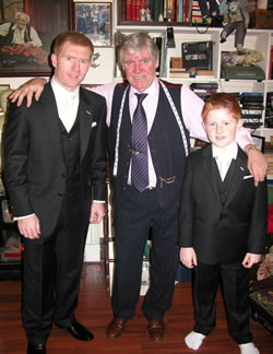 Paul And Arron Scholes With James
