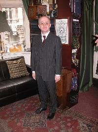 Mod suit 1960's style in Mohair